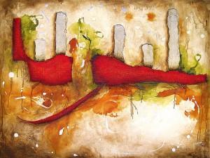 [Code:S454] [Medium:Acrylic-on-Canvas] [Size:1000x800mm] [Artist:Shaheen-Soni] [Price:R5400]
